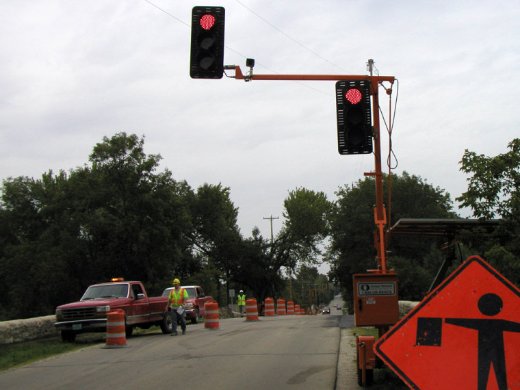 OMJC Signal's equipment being used in Milwaukee.