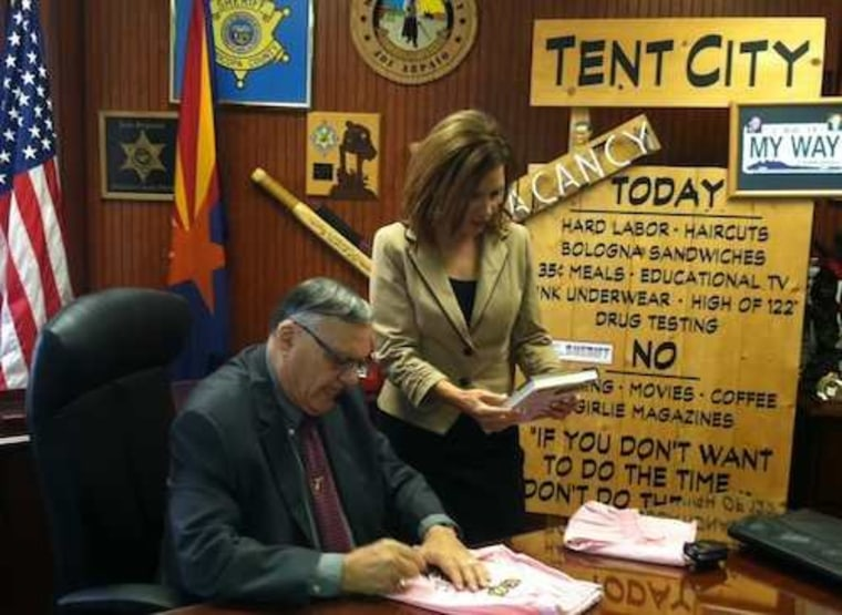 Picture this: Bachmann meets Arpaio