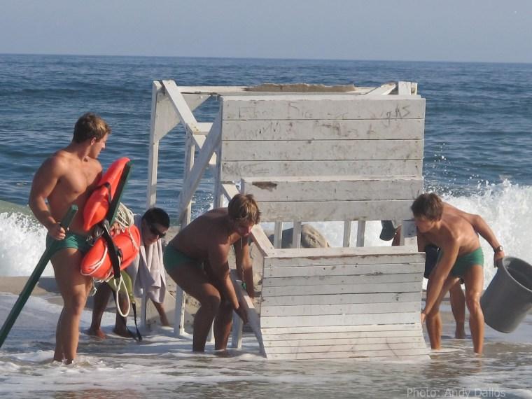 Westhampton Beach, NY braces for Hurricane Irene