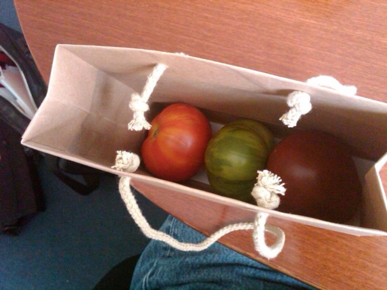Take Your Tomatoes to Work Day
