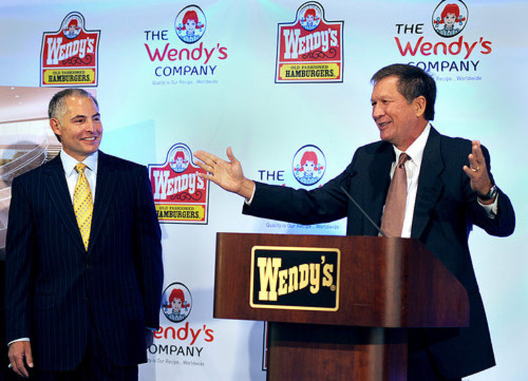 Governor Kasich welcomes Wendy's and 50 new jobs at its HQ.