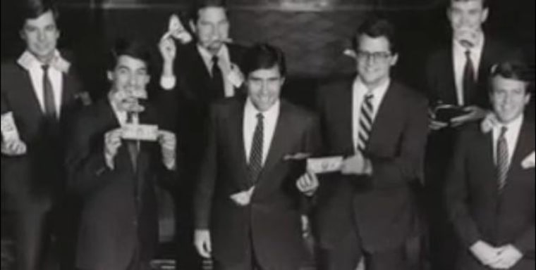 Mitt Romney back in his days working at Bain Capital