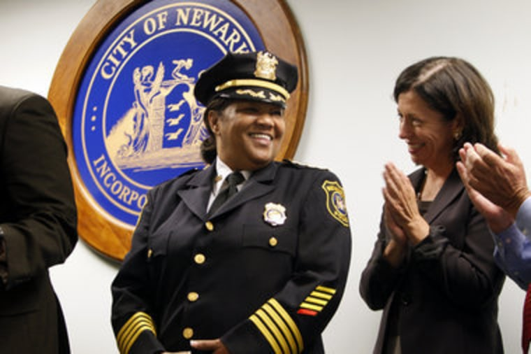 Sheilah Coley, soon to be sworn in as Newark's new Chief of Police
