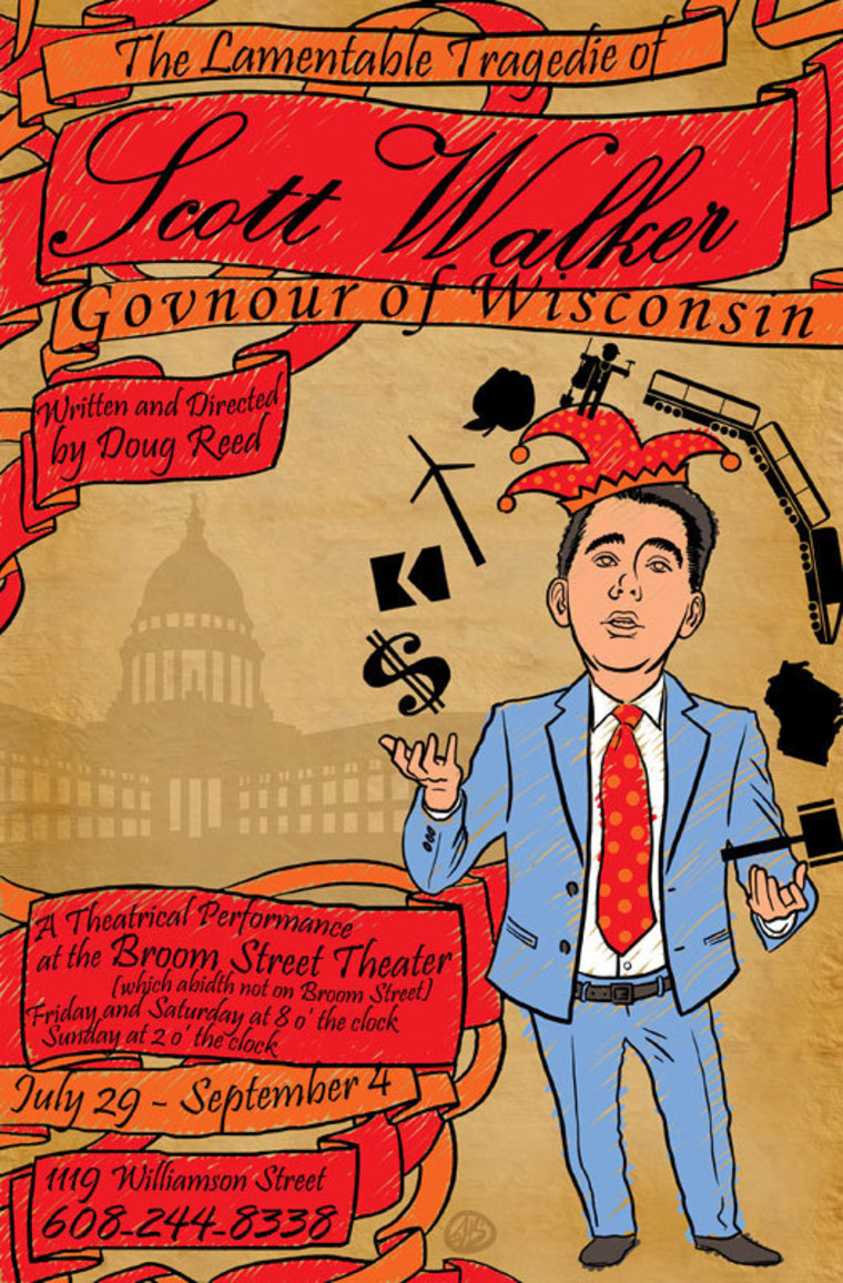 Now playing, for real: 'The Lamentable Tragedie of Scott Walker'