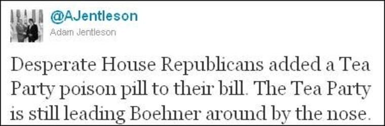 From Adam Jentleson, an aide to Senate Majority Leader Harry Reid