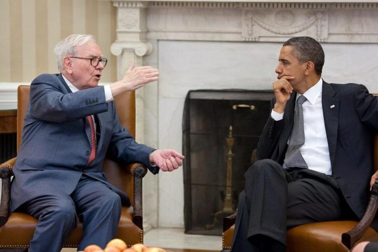 Meeting with Warren Buffett on July 18.