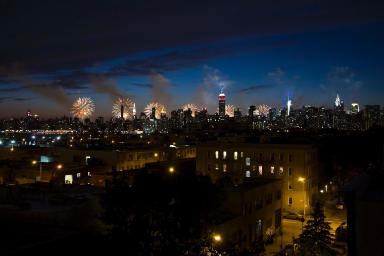 Not a bad view from Brooklyn