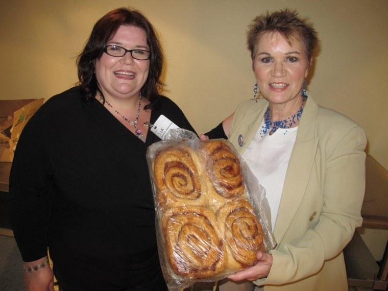 Melissa Freidhof-Rodgers (left) and Cynthia Freidhof.
