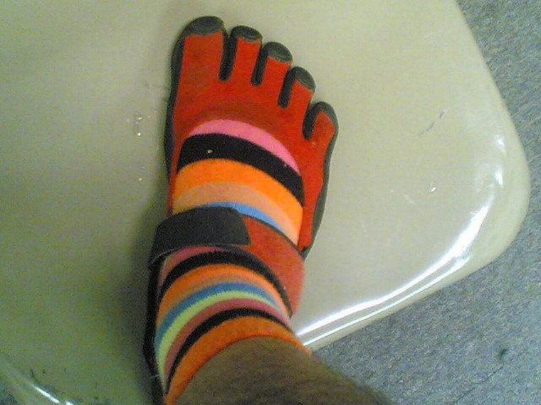 """""""Effective immediately, only those shoes that accommodate all five toes in one compartment are authorized for wear."""""""