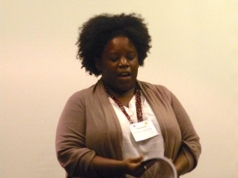 New Orleans education activist Aesha Rasheed.