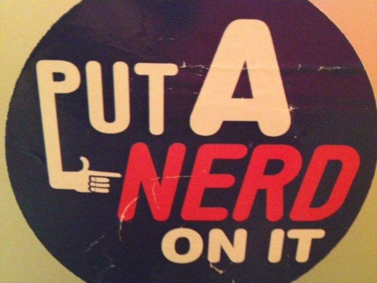 Free advice for future #nerdland interns
