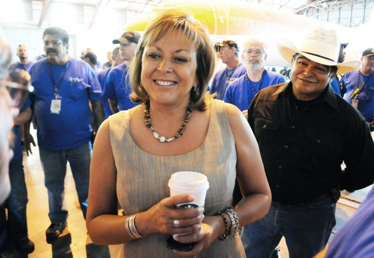 New Mexico Governor Susana Martinez isn't being seriously vetted as a potential Mitt Romney running mate.