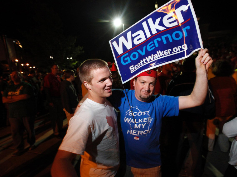 After Walker's win, a lot of wishful thinking
