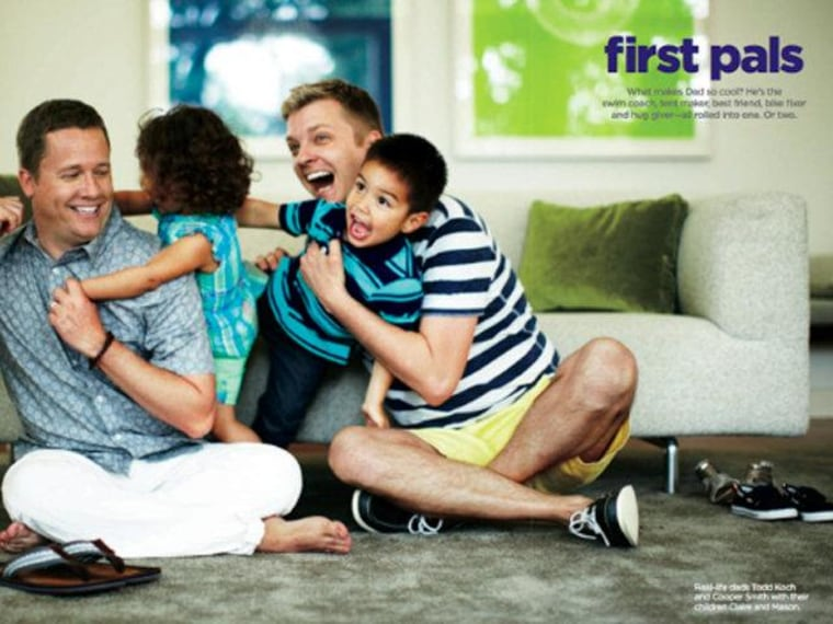 Two dads in JC Penney's new Father's Day ad