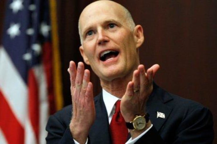 Florida Dems calling out Rick Scott's voter purge