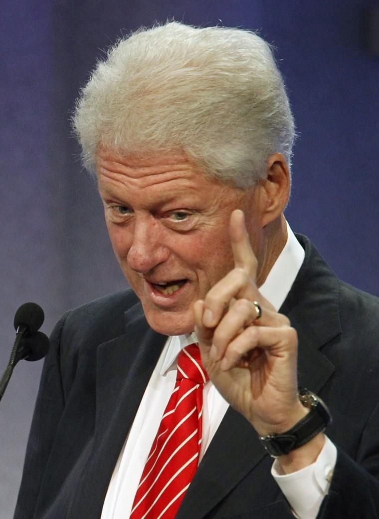 One bill that Clinton doesn't like
