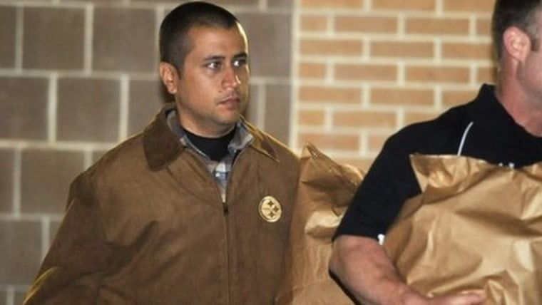 George Zimmerman leaves jail on April 23 after his $150,000 bond was posted.