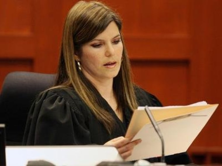 Judge in Trayvon murder case steps down