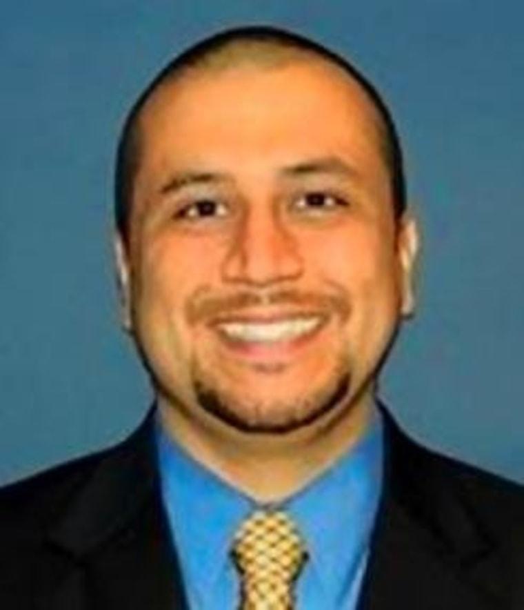 Confessed killer George Zimmerman.