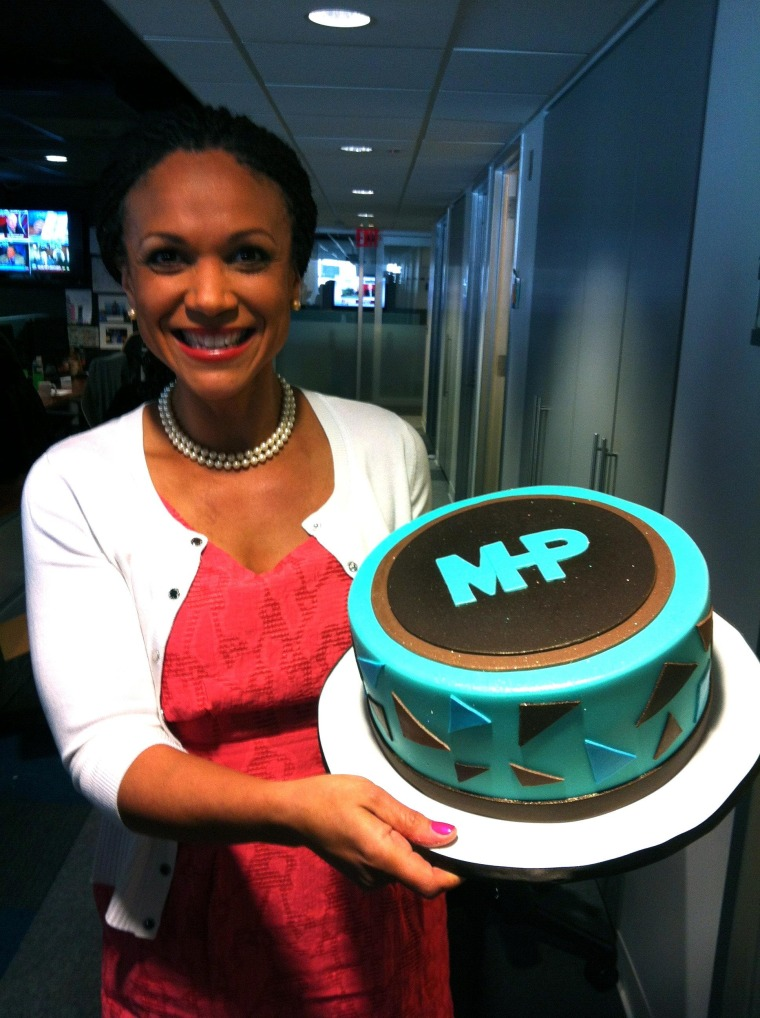 Melissa is great, gives us a big ol' cake
