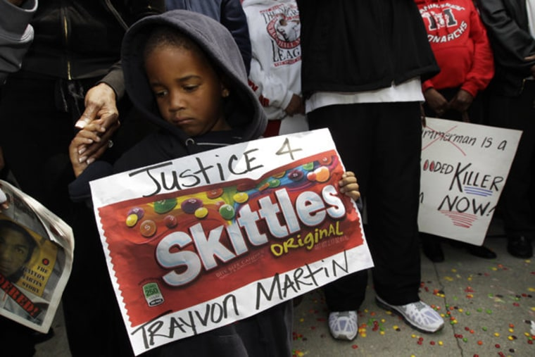 Trayvon Martin was 'guilty of being black'
