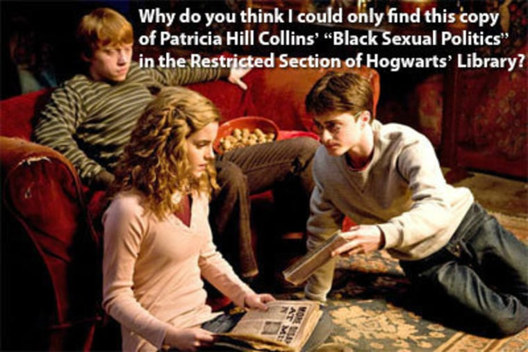 Yes, there's a Feminist Harry Potter Tumblr. Click the picture to visit.