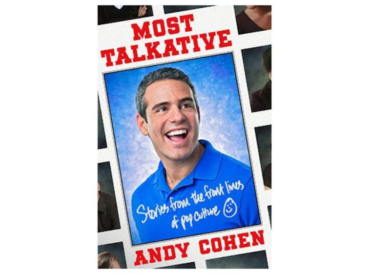 "An audio excerpt from Andy Cohen's new book ""Most Talkative"""