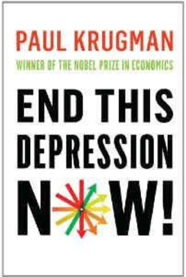 """An excerpt from Paul Krugman's """"End This Depression Now!"""""""