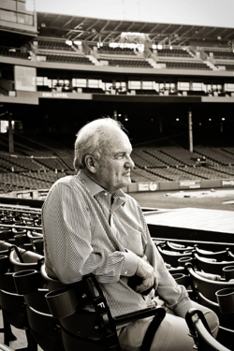 Mike Barnicle shares his memories of a life spent, in large part, at Fenway