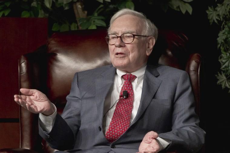 The Buffett rule, named after billionaire investor Warren Buffett, above.