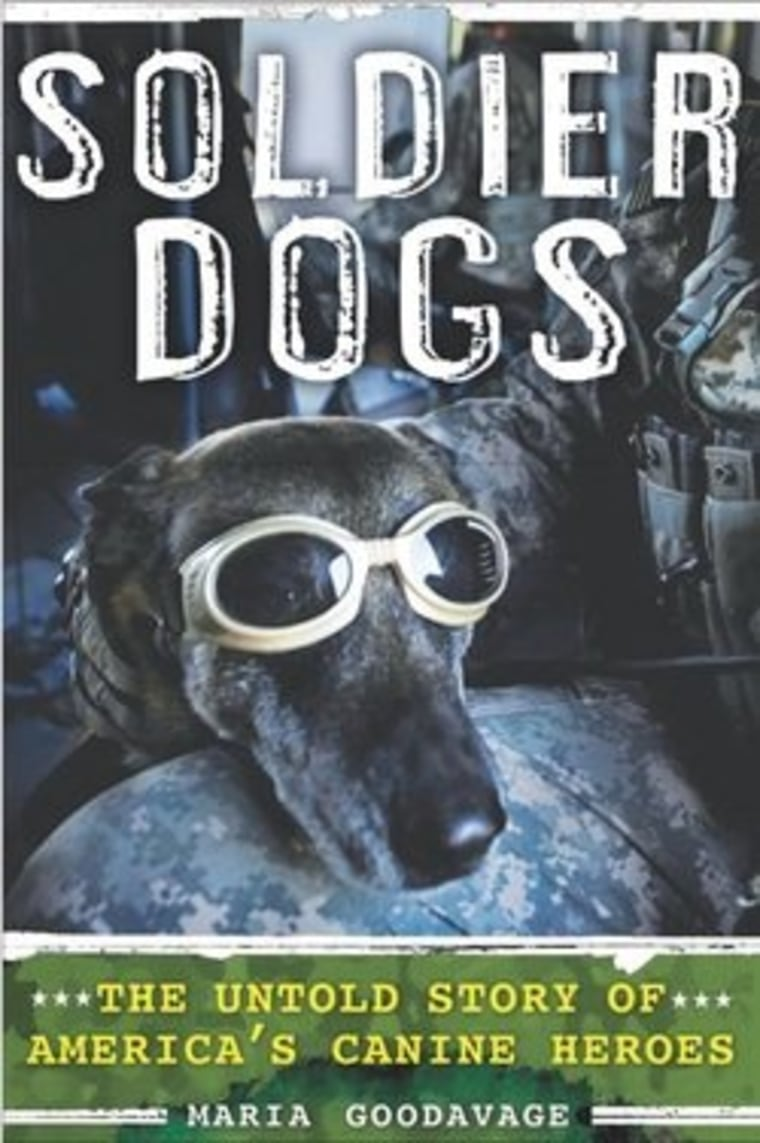 """An excerpt from Maria Goodavage's book """"Soldier Dogs"""""""