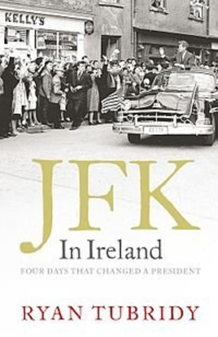 """An excerpt from Ryan Tubridy's new book """"JFK in Ireland"""""""