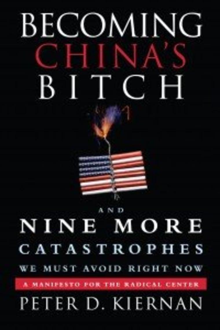 "An excerpt from Peter Kiernan's new book \""Becoming China's B**ch\"""