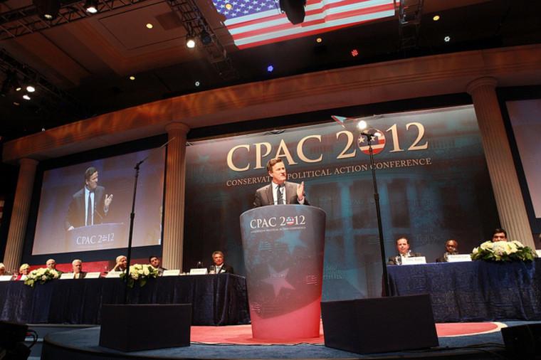 Joe Scarborough speaks at CPAC 2012 in Washington, D.C.