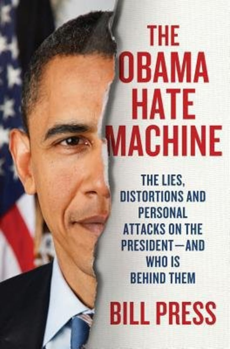 """An excerpt from Bill Press' new book \""""The Obama Hate Machine\"""""""