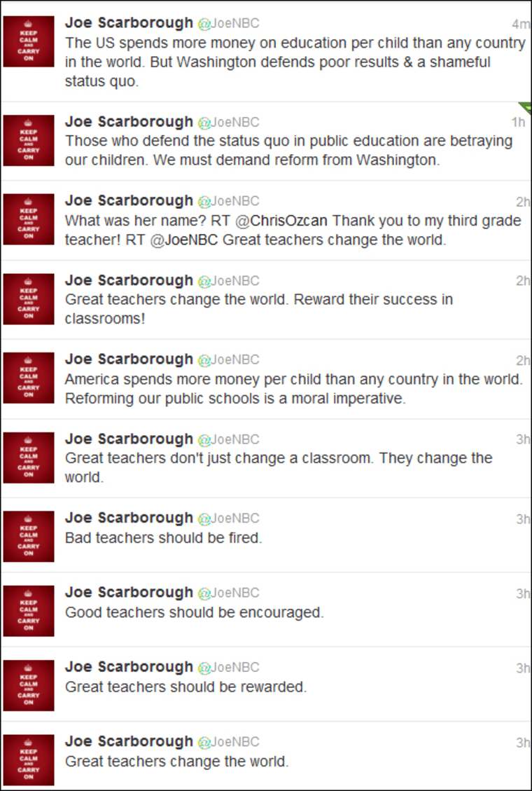 Joe and Howard Dean go toe-to-toe on education reform