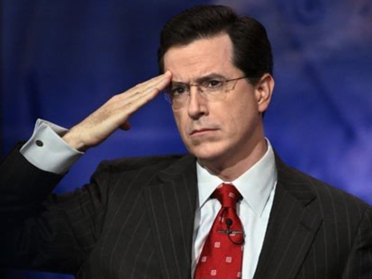 Stephen Colbert and Morning Joe: An exclusive, superPACked, serious, classy time