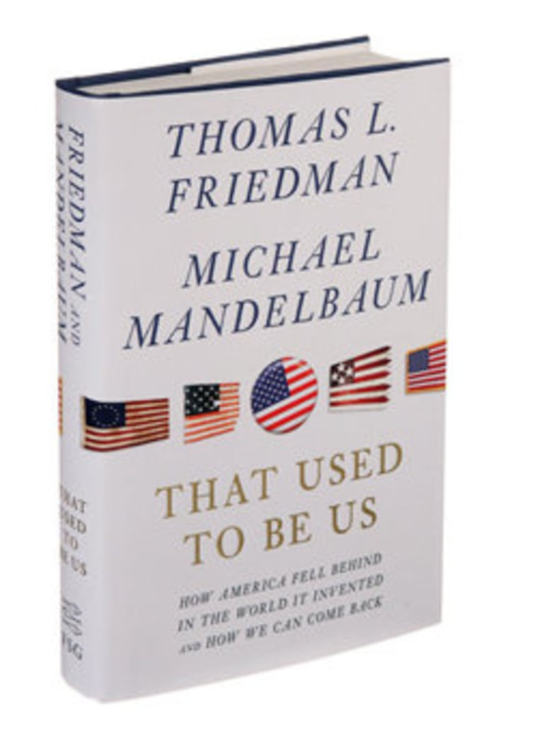 Audio excerpt for Thomas Friedman's 'That Used to Be Us'