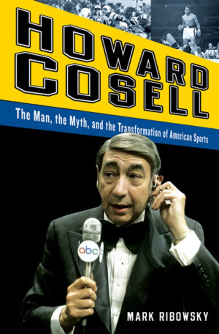An excerpt from Mark Ribowsky's new book on Howard Cosell
