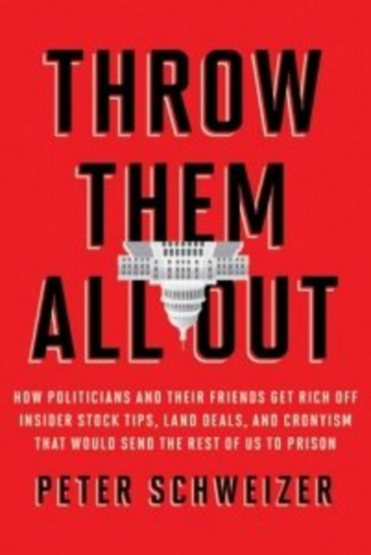 An excerpt from Peter Schweizer's book 'Throw Them All Out'