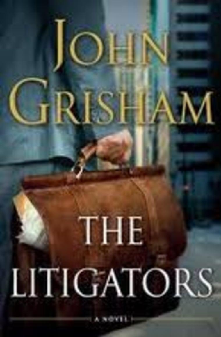 An excerpt from John Grisham's new book 'The Litigators'
