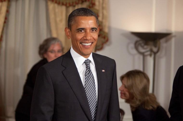 United States President Barack Obama at the U.N. General Assembly, Sept. 20, 2011.