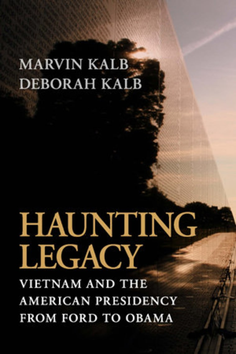 An excerpt from Marvin and Deborah Kalb's 'Haunting Legacy'