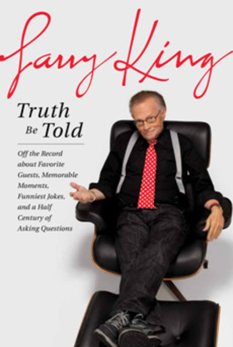 An excerpt of Larry King's new book -- Truth Be Told