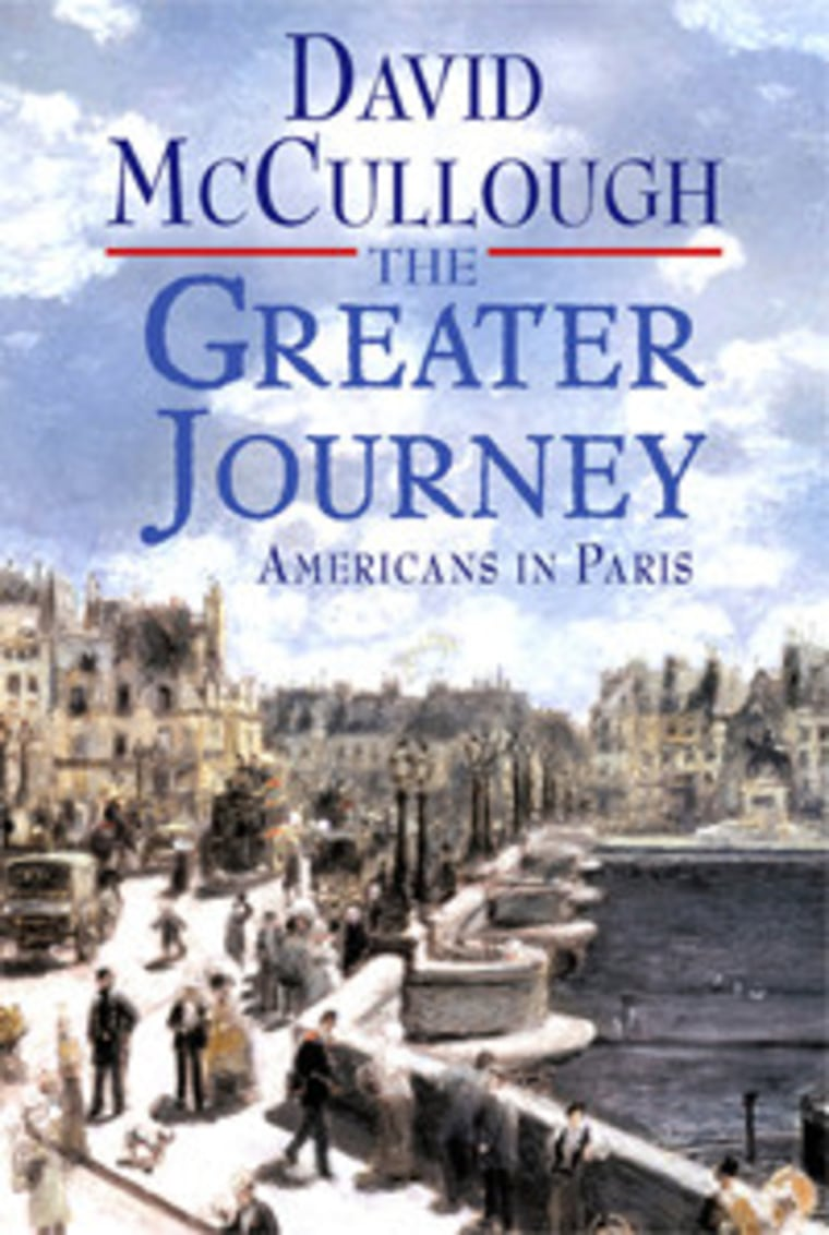 """An excerpt from David McCullough's book """"The Greater Journey"""""""