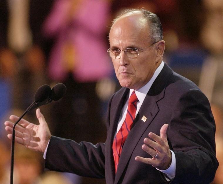 A Giuliani rise?