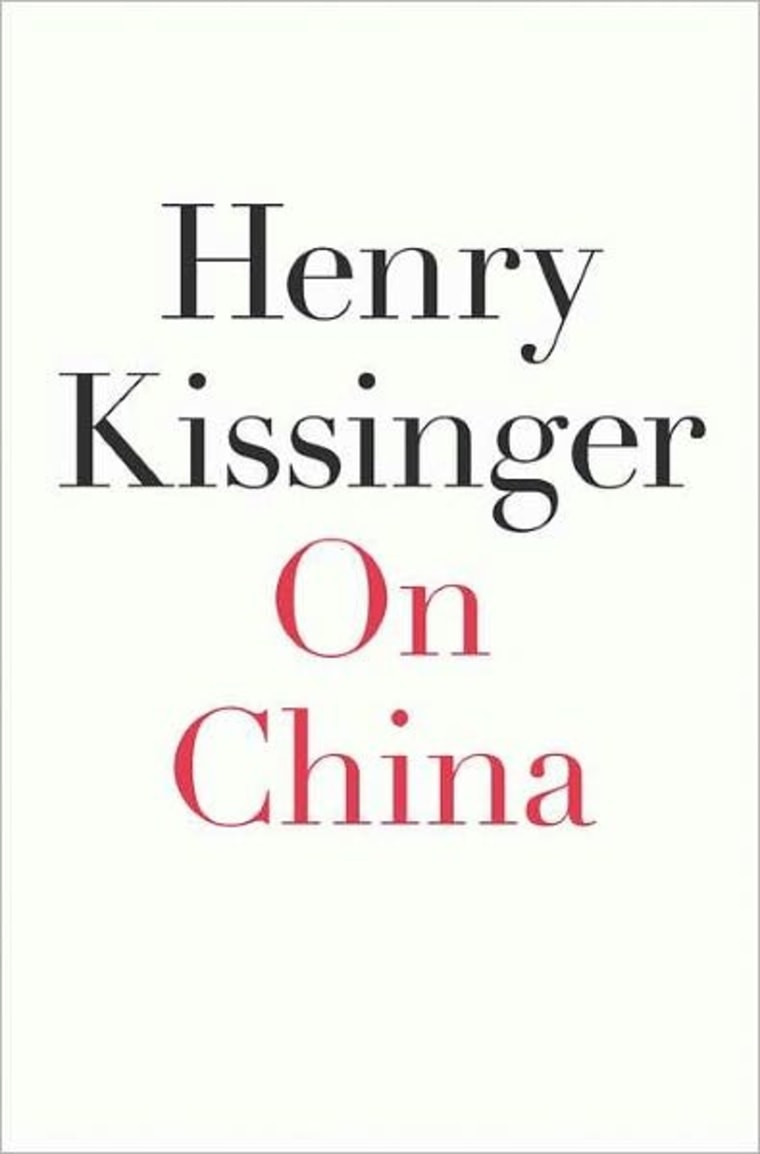 An excerpt of Kissinger's book: 'On China'