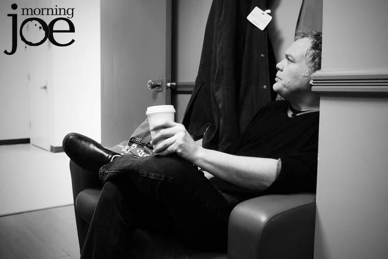 Actor Vincent D'Onofrio in the MJ green room