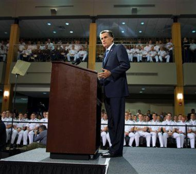 Romney's foray into foreign policy