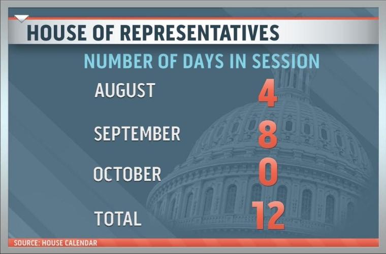 112th Congress says Bon Voyage; departs for seven-week break